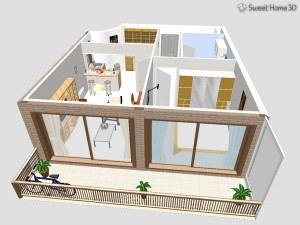 Программа Sweet Home 3D